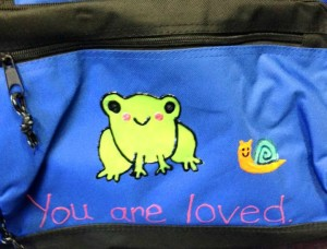 duffel you are loved blog